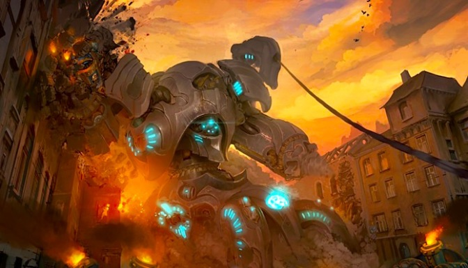 EXCLUSIVE: Warmachine: NEW Convergence Colossal Sprues Teased!
