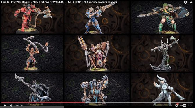 WARMACHINE MK III….er whatever is happening