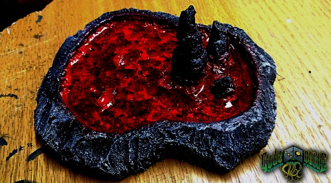 Lava Puddle (MAGMA SPAWNING PIT OF DEATH!!!)
