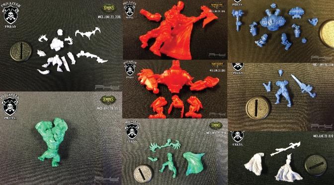 Battlebox MK III Models Unassembled