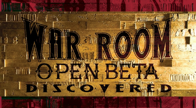DISCOVERED! War Room Open Beta for Mobile Phones
